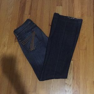 7 for all mankind denim size 27